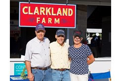 (L-R): Fred Mitchell, Matt (Ernie) Ernst, and Marty Buckner of Clarkland Farm at the Keeneland September Sale