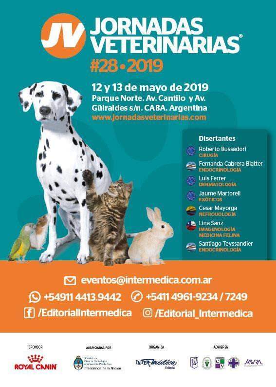 XXVIII Jornadas Veterinarias 2019