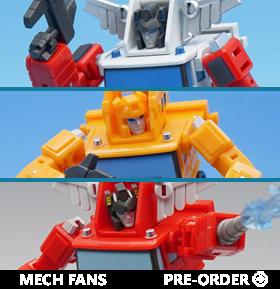 Mech Fans Toys