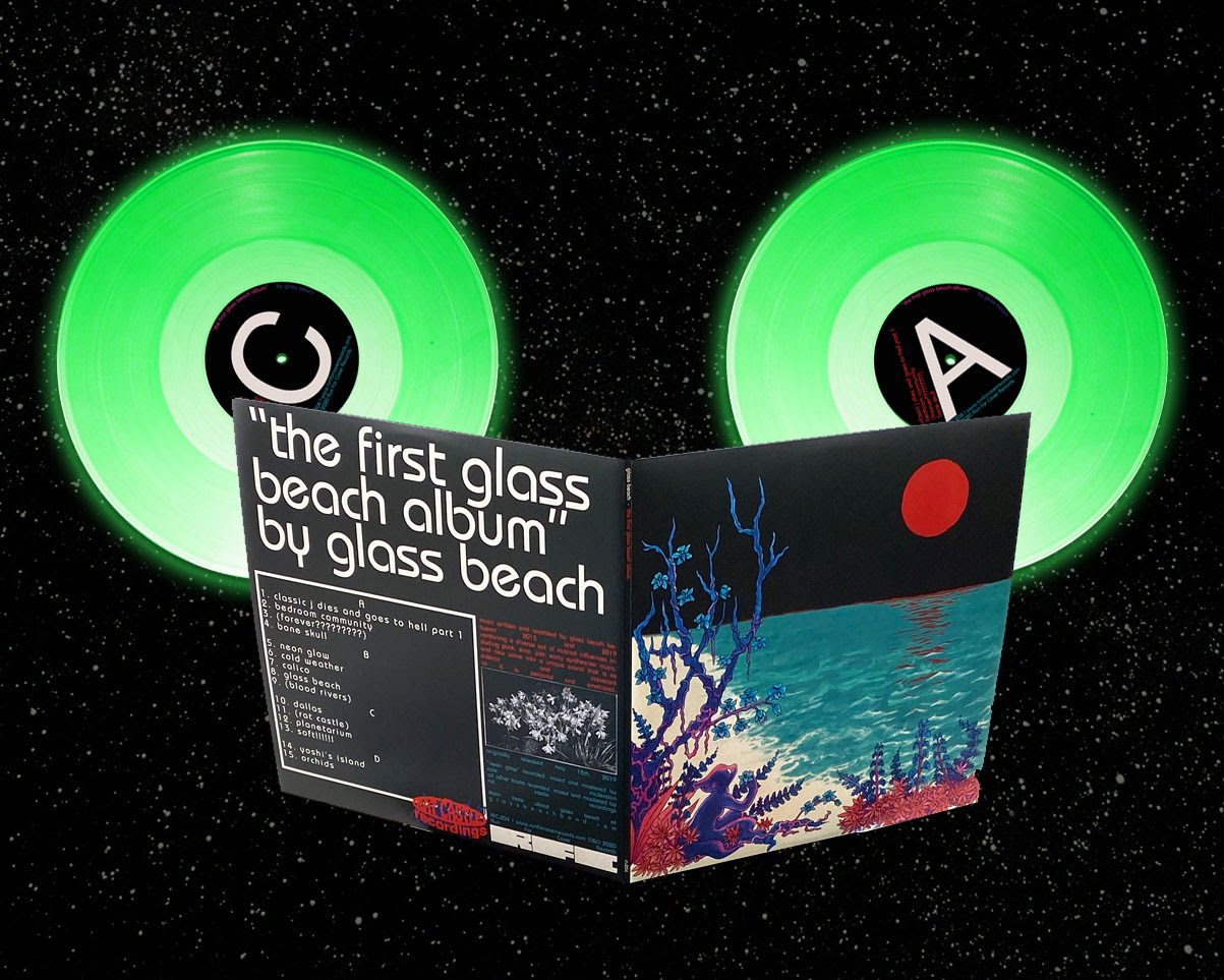 The First Glass Beach Album Out Now Withguitars
