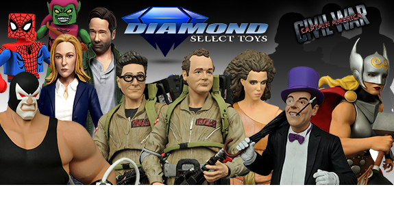 DIAMOND SELECT TOYS 22 NEW PREORDERS
