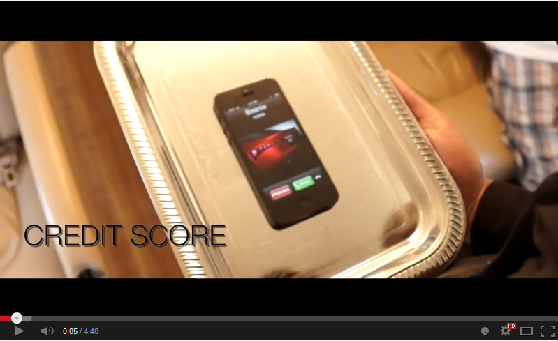 Credit Score Screen Shot