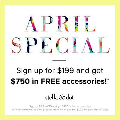 Stella & Dot Stylist Signup