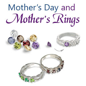 Mother's Day and Mother's Rings