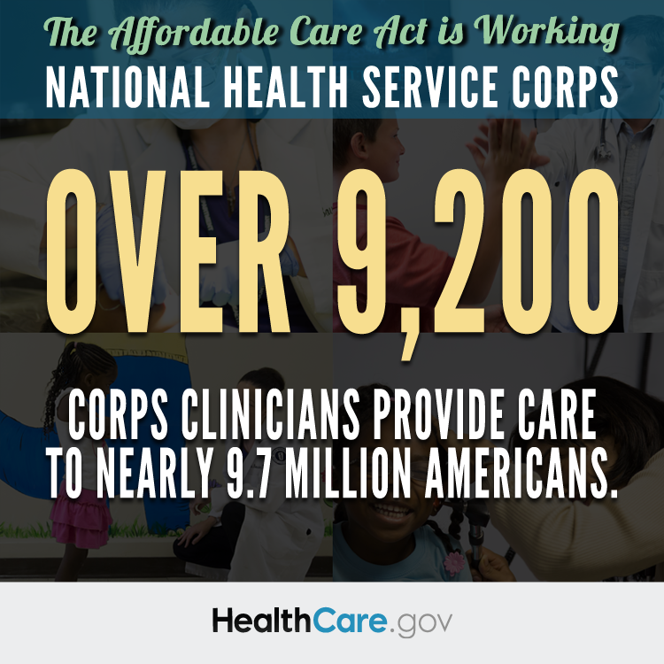 The Affordable Care Act is Working: National Health Service Corps