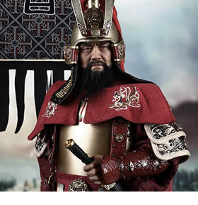 Masterpiece Series Cao Cao (Copper Armored Version) 1/6 Scale Figure