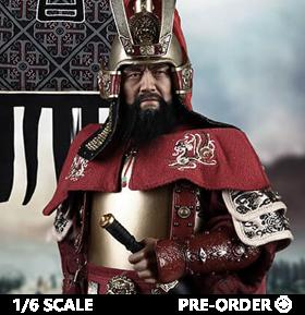 Masterpiece Series Cao Cao (Copper Armored Version) 1/6 Scale Figure