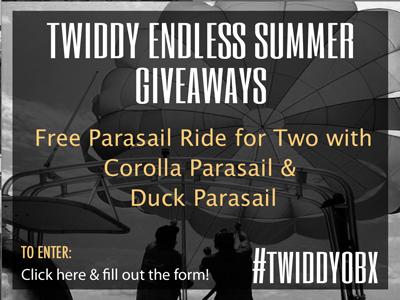 Enter Twiddy Endless Summer Giveaways