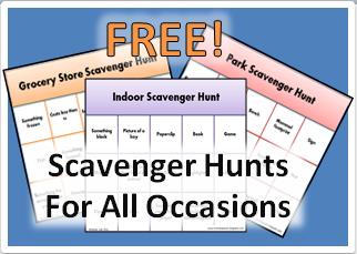 Free Scavenger Hunts