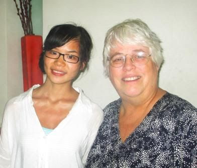 Betty Cutts and Yi Yanlan