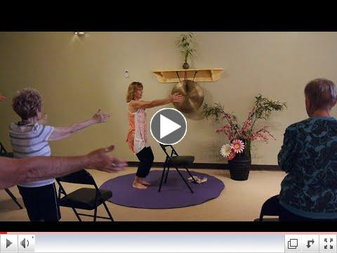 Want more challenge in your Yoga Chair Pose? Tip Toe! with Sherry Zak Morris, E-RYT