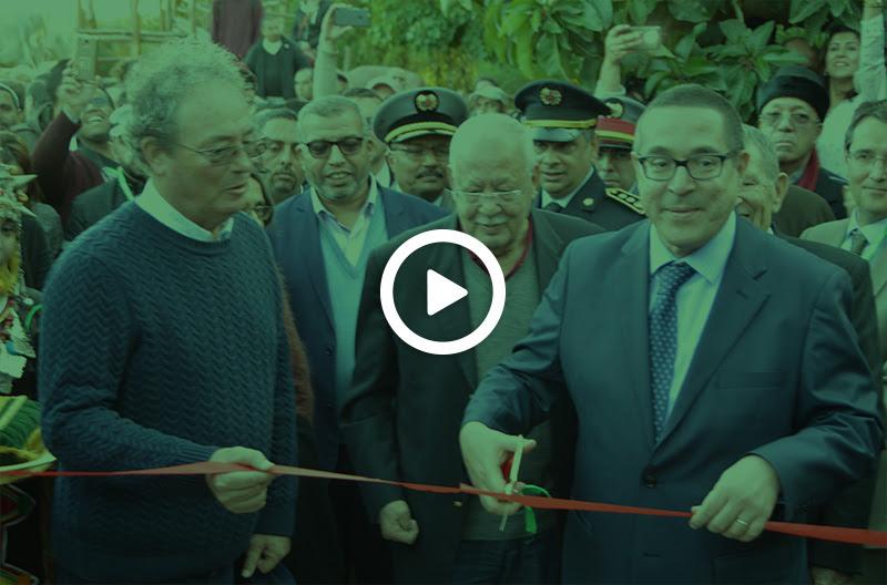 Inauguration du jardin de cactus par Monsieur le Wali