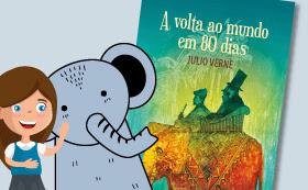 Literatura Contação de história: A volta ao mundo em 80 dias