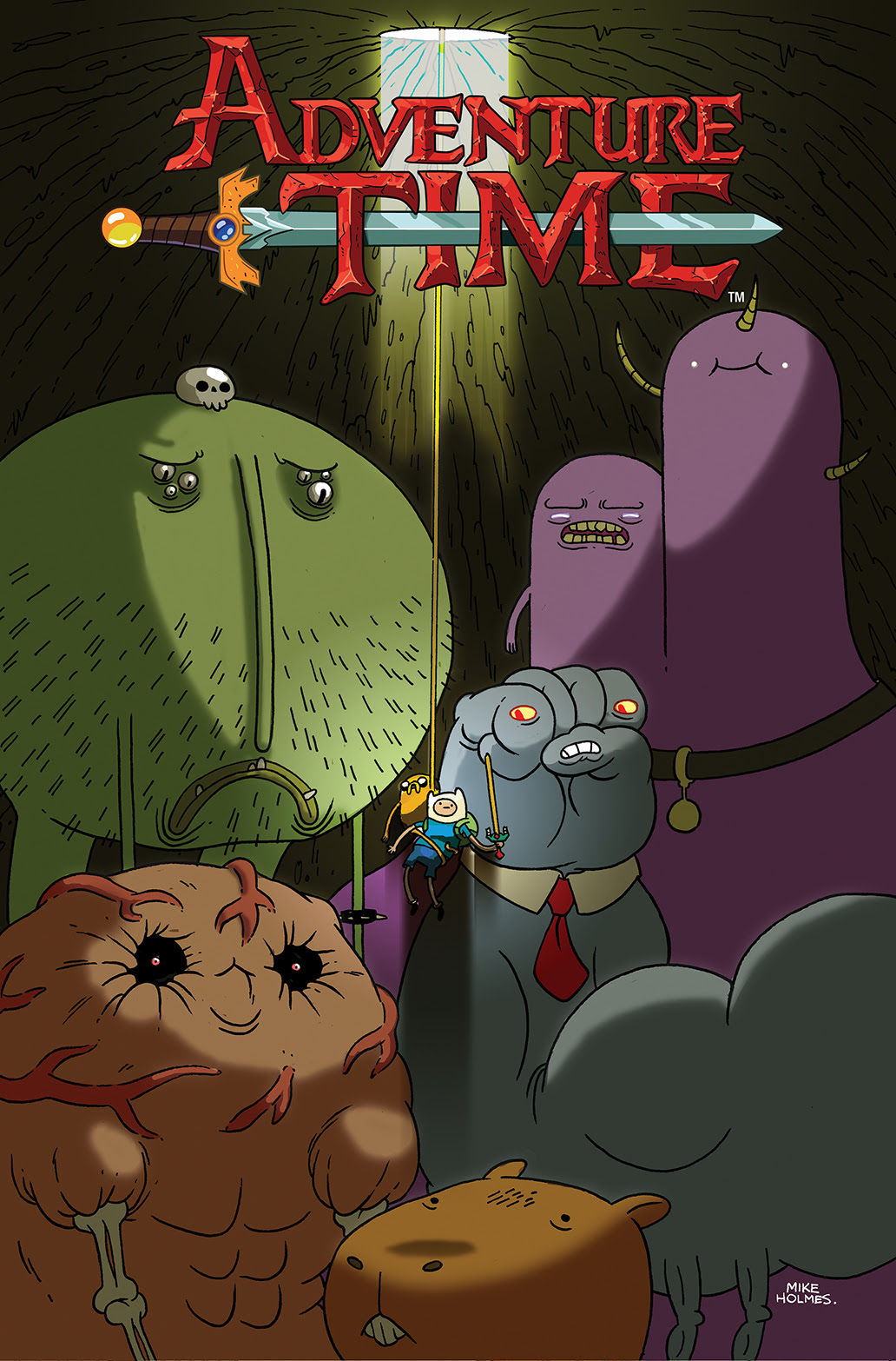 ADVENTURE TIME #28 Cover A by Mike Holmes
