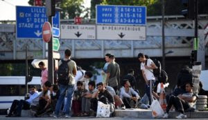Paris metro drivers refuse to stop at some stations for safety concerns, including one used as Muslim migrant camp