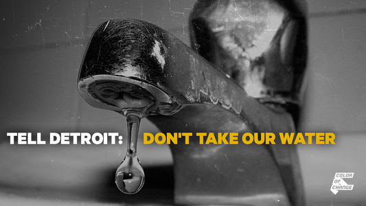 People have a right to water!