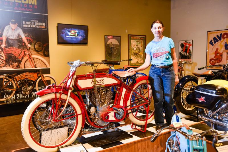 Sisters Centennial Ride visits the National Motorcycle Museum
