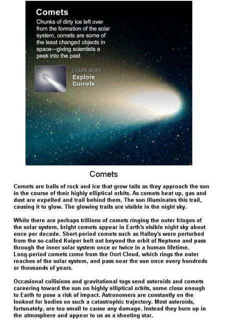 Fig 1A Comets