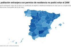 DATOS   El 73% de los extranjeros que viven legalmente en España no tiene derecho al voto