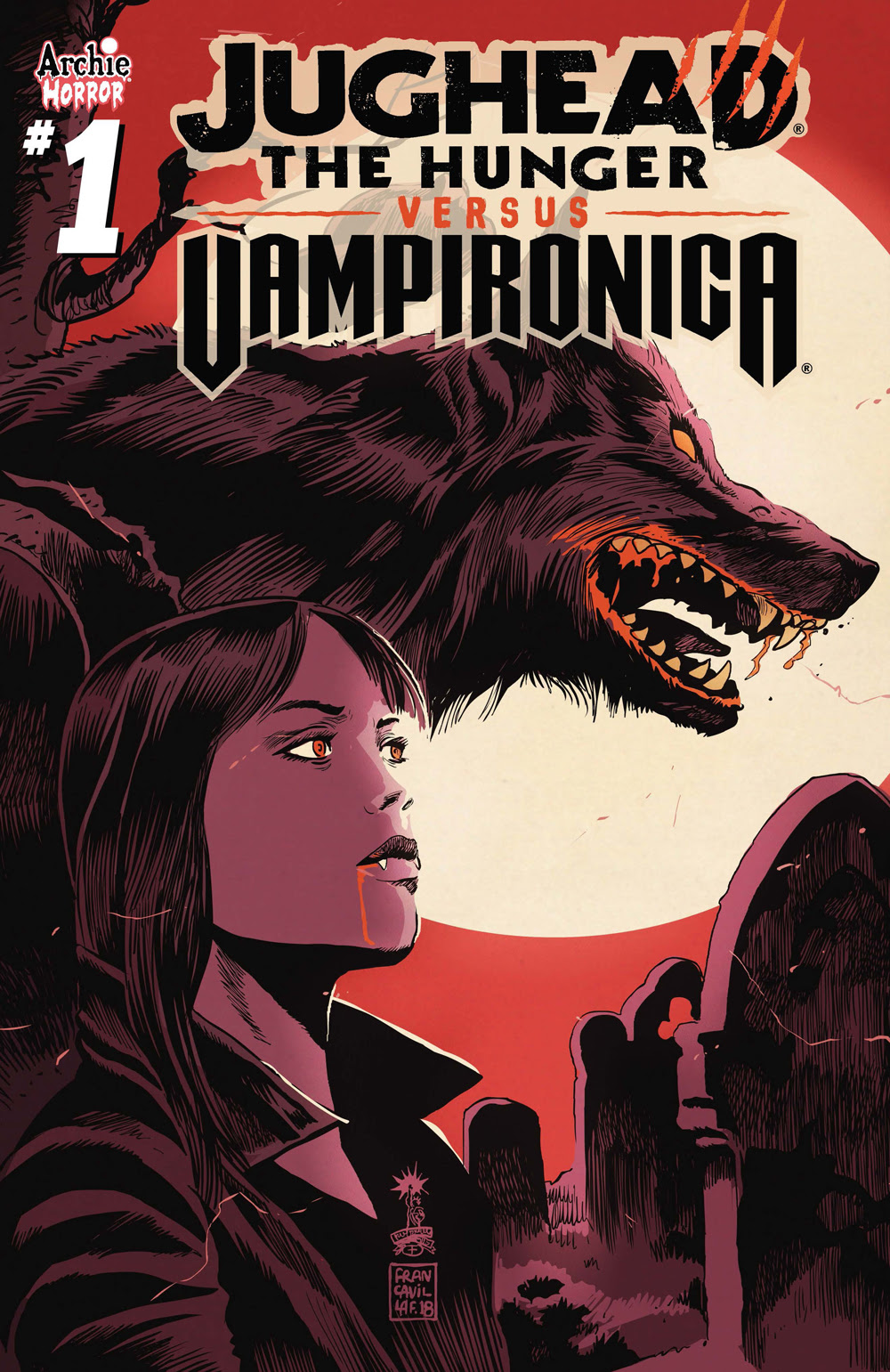 JUGHEAD: THE HUNGER VS. VAMPIRONICA #1: CVR B Francavilla