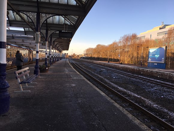 Kilmarnock Station accessibility improvements in site