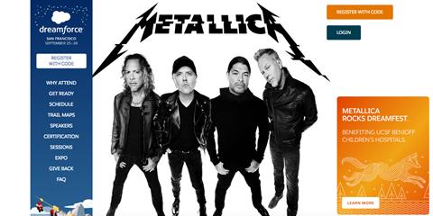 Metallica at DF18