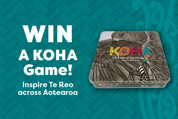 WIN a KOHA game! Inspire Te Reo across Aotearoa