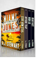 Miami Jones Box Set: Books 1–4 by A.J. Stewart