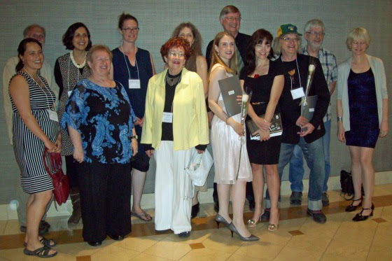 The short-listed and award winners at the 48th annual League of Canadian Poets Poetry Festival and Conference