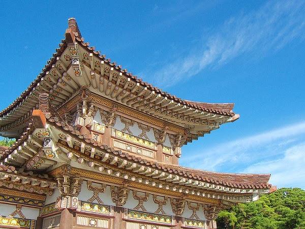 coreia do norte Túmulo do Rei Dongmyeong.