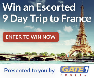 Enter to win an escorted 9 day...