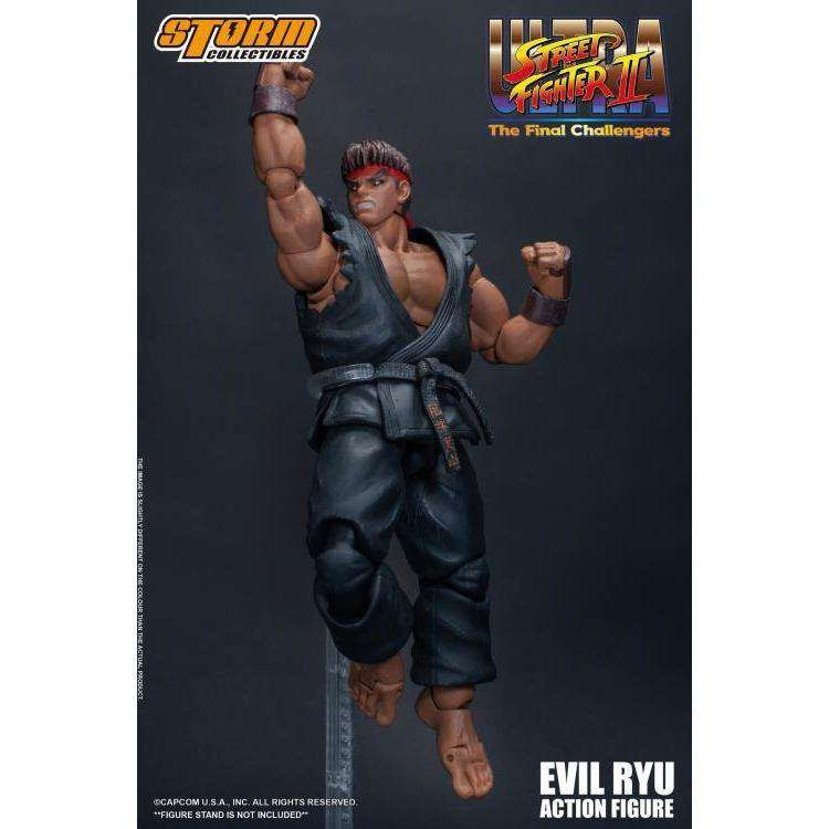 Image of Street Fighter II Evil Ryu 1/12 Scale Figure