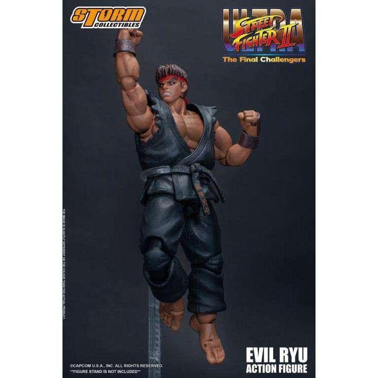 Image of Street Fighter II Evil Ryu 1/12 Scale Figure