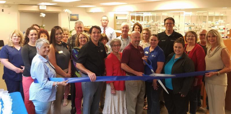 Riverstone Pharmacy Ribbon Cutting Picture