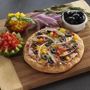 Veggie Luv-ers Pizza