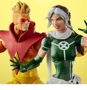 X-Men 20th Anniversary Marvel Legends Rogue & Pyro