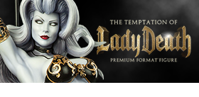 THE TEMPTATION OF LADY DEATH PREMIUM FORMAT