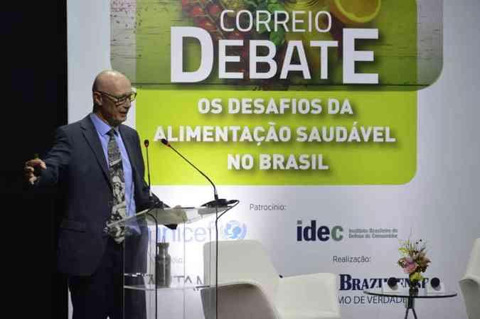 Boyd acredita que educação alimentar é vista como uma das principais soluções(foto: Marcelo Ferreira/CB/D.A Press)