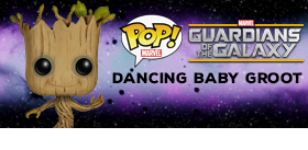 POP! MARVEL GUARDIANS OF THE GALAXY DANCING BABY GROOT