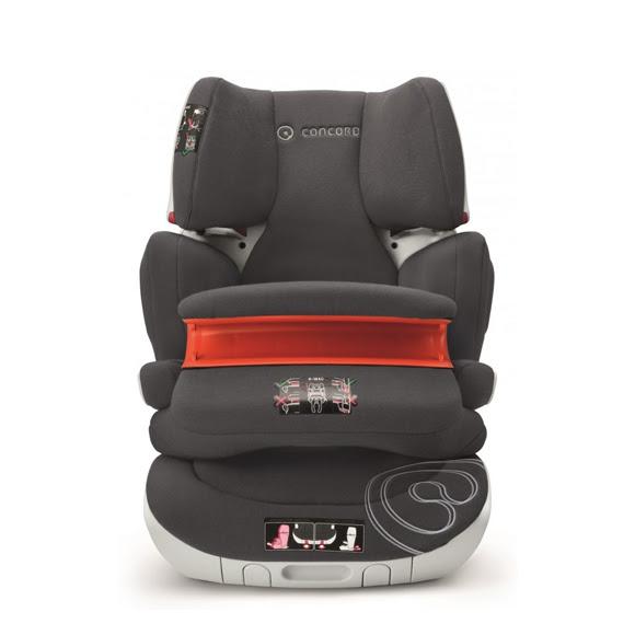Extreme utolsó darabok! - Concord Transformer XT Pro autósülés 9-36kg - Midnight Black