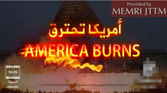 Islamic Video: 'America Burns' Asserts U.S. Is Collapsing And Is Headed Toward Civil War