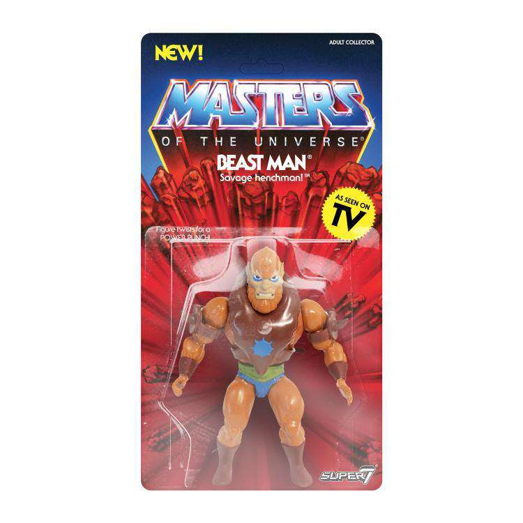 Image of Masters of the Universe Vintage Wave 2 - Beast Man