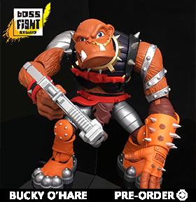 Bucky O'Hare Deluxe Bruiser The Betelgeusian Berserker Baboon
