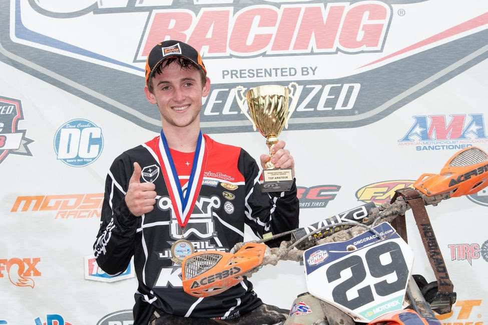 Simon Johnson clinched the Top Amateur honors and the 250 A class win in South Carolina.