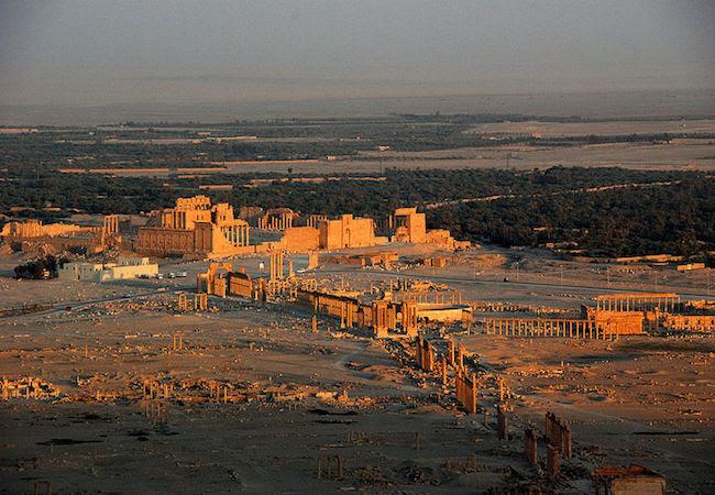 Palmyra: Renewed dangers