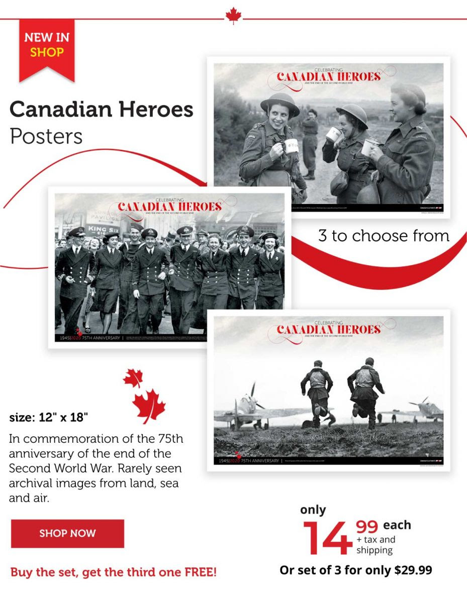 Canadian Heroes Posters