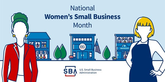 SBA is celebrating National Women's Business Month