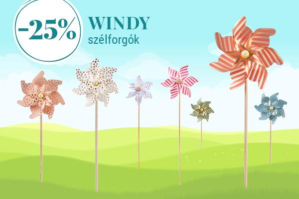 Gyereknapi ajánlat - WINDY szélforgók
