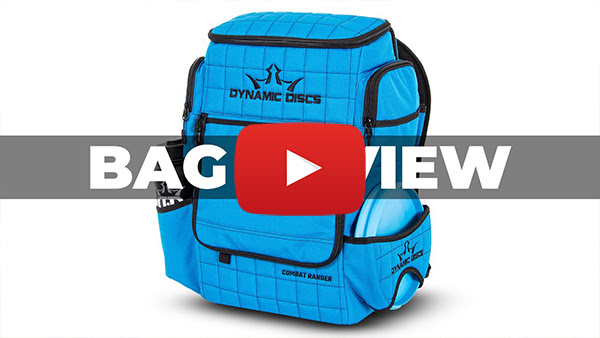 Dynamic Discs Combat Ranger Disc Golf Backpack Bag Review