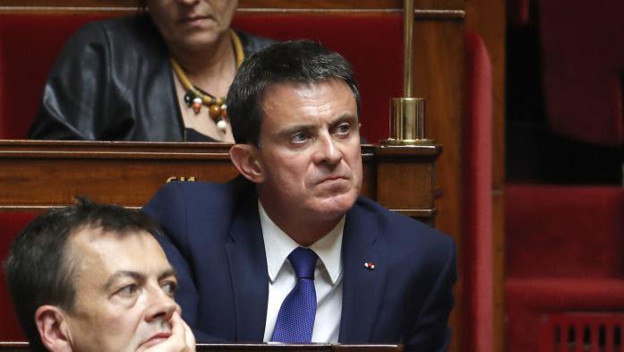 """VIDEO. """"Les candidats de la France insoumise sont dangereux pour la démocratie"""", lance Manuel Valls"""